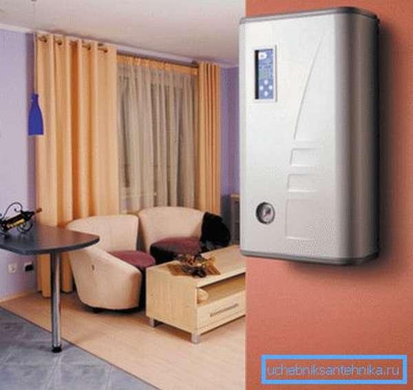 Электрический агрегат не только удобен, но и красив.