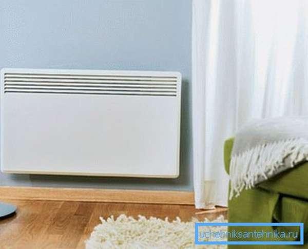 Электрический конвектор – отличная альтернатива газовому отоплению
