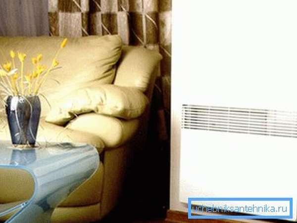Электрический конвектор позволяет с легкостью обустроить отопление в жилище