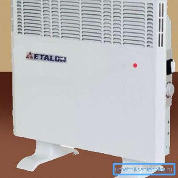 Электроконвектор эффективно нагревает воздух, но тратит большое количество электричества