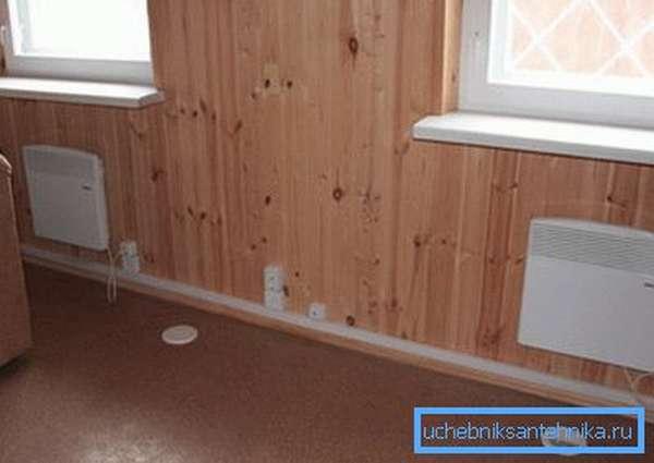 Электроконвектор – простейший способ обогрева дома