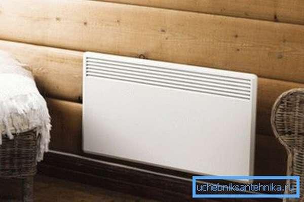 Электроконвекторы (на фото) компактны и достаточно эффективны