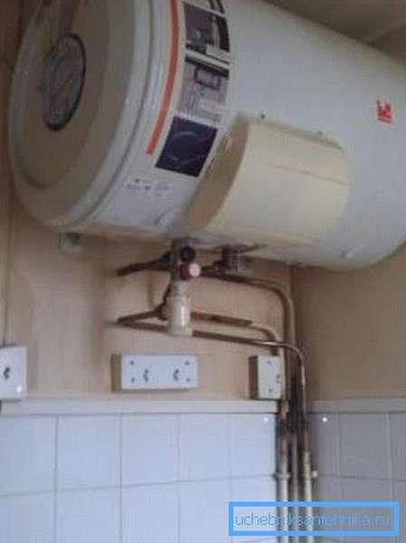 Электрокотел бойлерного типа