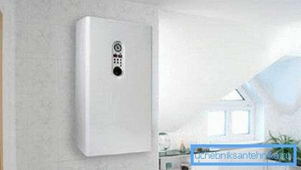 Электронагревательные котлы отопления в интерьере квартиры
