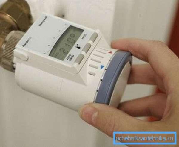 Электронный термостатический кран радиаторов – принцип действия