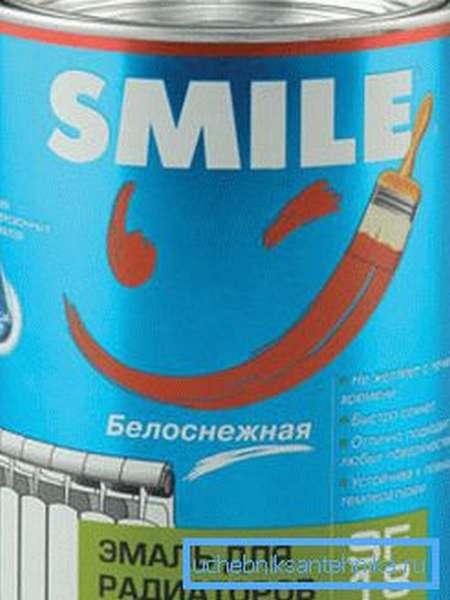 Эмаль для радиаторов без запаха