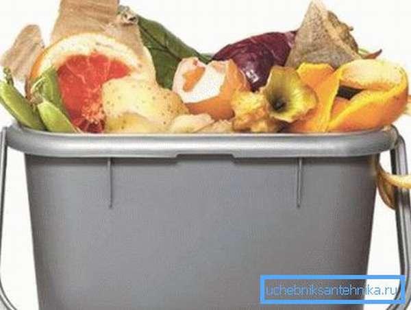 Емкость для выброса мусора