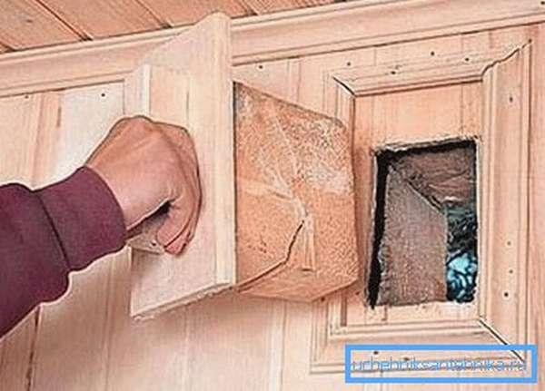 Естественная вентиляция в деревянной бане своими руками