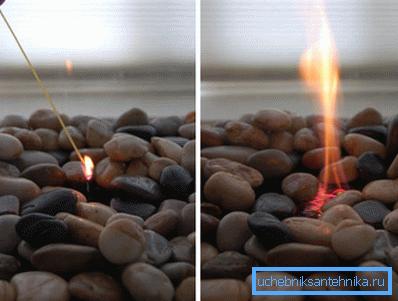 Этанол горит ярко, без дыма и копоти