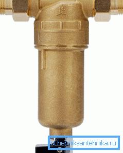 Фильтр для водопровода на даче с возможностью осуществления его промывки