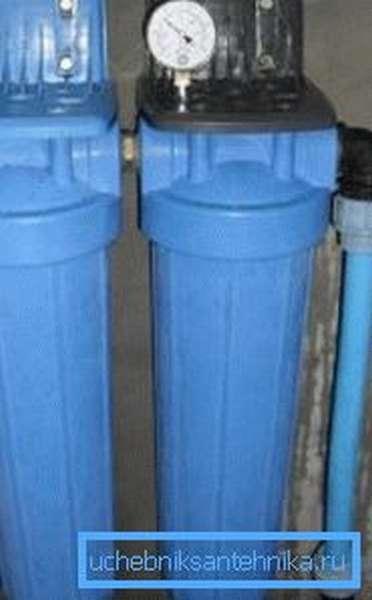 Фильтр для воды из скважины своими руками установить несложно