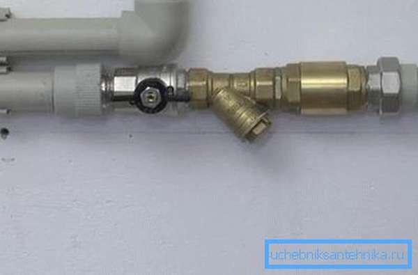Фильтр в системе отопления