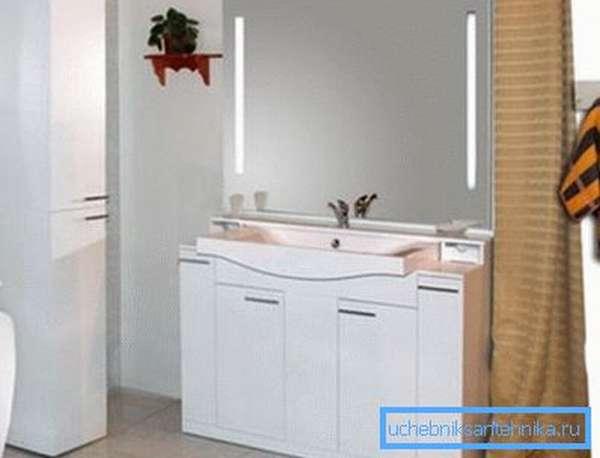 Фото гарнитура для ванной.