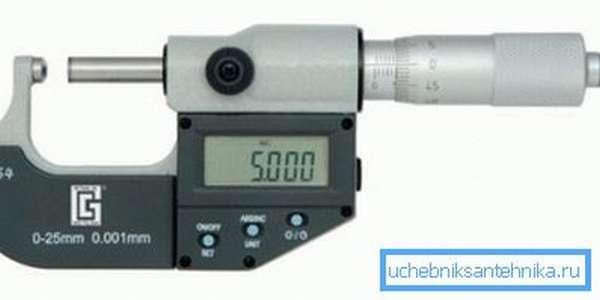 Фото микрометра для труб