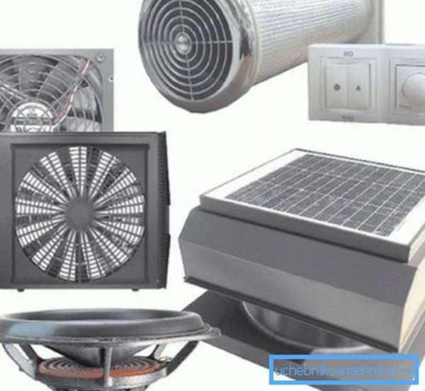 Фото оборудования, осуществляющего принудительную вентиляцию