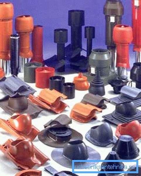 Фото пластиковых деталей для изготовления вентиляции