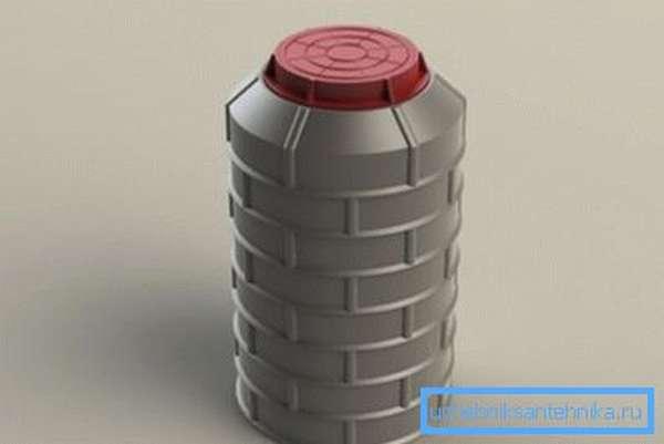 Фото простейшего пластикового кессона.