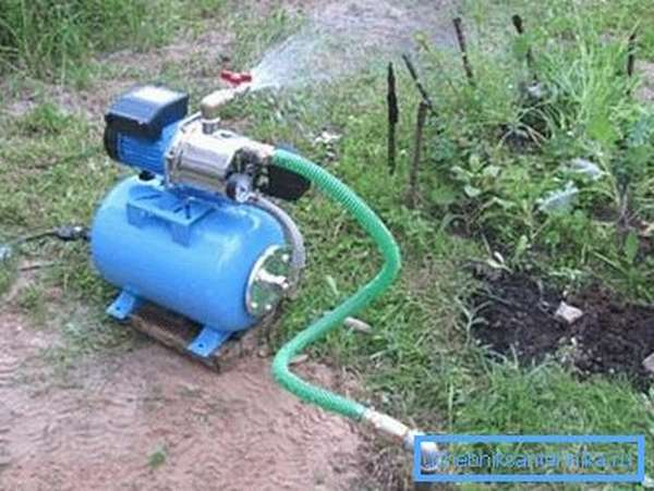 Фото работающей станции водоснабжения
