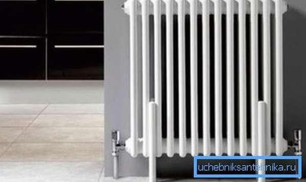 Фото радиатора классической конструкции