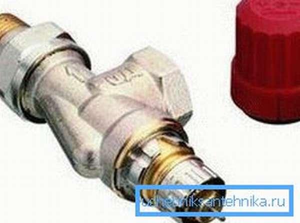 Фото радиаторного клапана