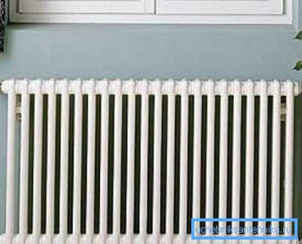Фото установленного радиатора