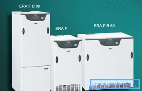 Газовое отопительное оборудование высокой мощности LAMBORGHINI серии ERA F