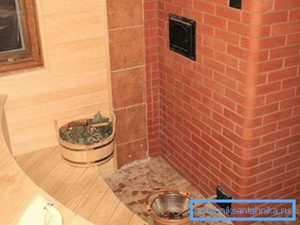 Газовые кирпичные печи могут использоваться в любом помещении