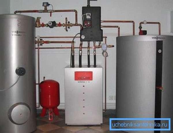 Газовые котлы для отопления дачи имеют много разновидностей