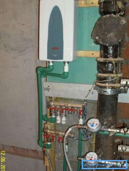 Газовый аппарат в сборе