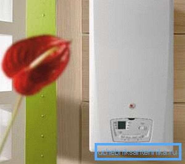 Газовый котел для автономного отопления