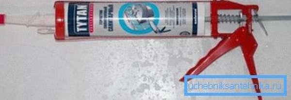 Герметик для труб канализации готовый к употреблению
