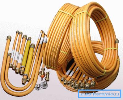 Гибкие изделия для трубопровода