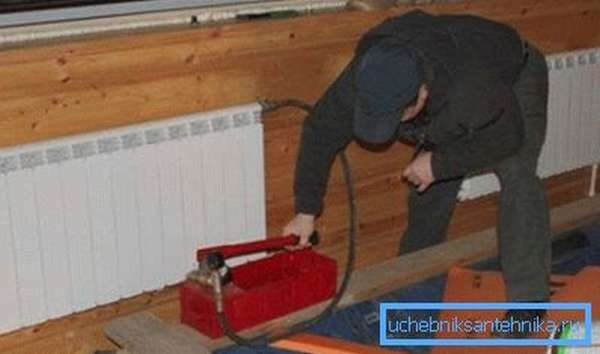 Гидравлическая проверка автономного отопления
