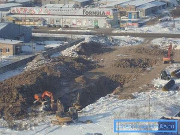 Глубина закладки водопроводных труб в северных районах требует больших затрат