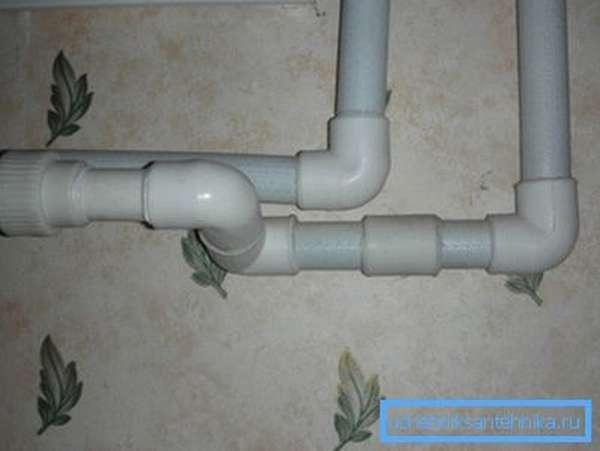 Готовый водопровод из полипропиленовых труб