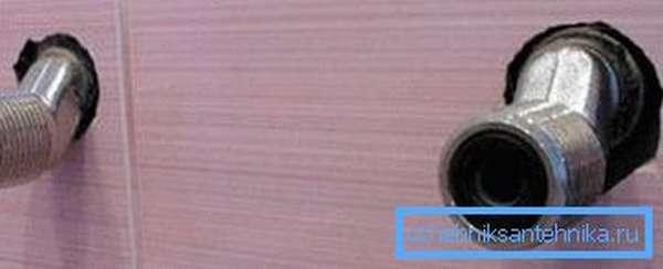 Грани на корпусе эксцентриков позволяют вкрутить их разводным или рожковым ключом.