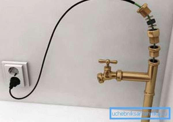 Греющий кабель – эффективная система для обеспечения работы трубопровода зимой