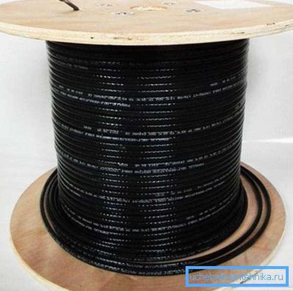 Греющий кабель в мотке