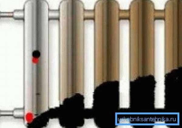 Грязь – главный выключатель радиатора от тепла.