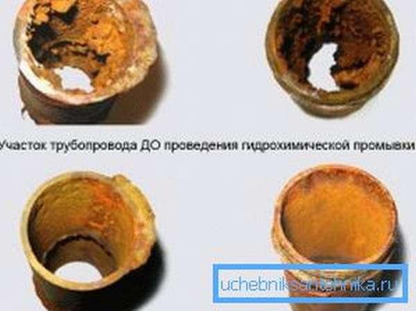 Химическая прочистка отопления