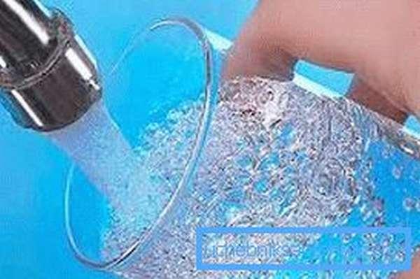 Хорошо очищенная вода