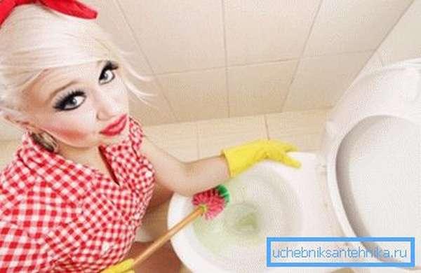 И не забывайте регулярно использовать различные моющие средства для профилактики прочистки канализационных труб