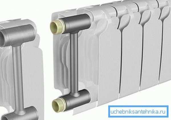 Именно стальные трубы сообщают биметаллическому изделию отличные технические характеристики.