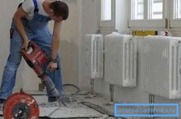 Имея желание, можно обустроить отопление дома и самостоятельно