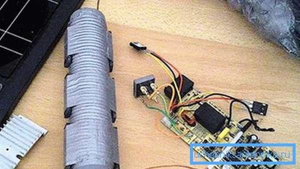 Индукционный котел из пластиковой трубы