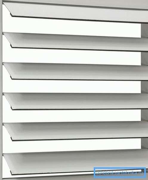 Инерционные решетки для систем вентиляции приточно-вытяжного типа