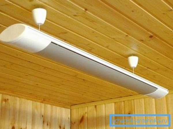 Инфракрасные излучатели тоже могут быстро и качественно отапливать дом