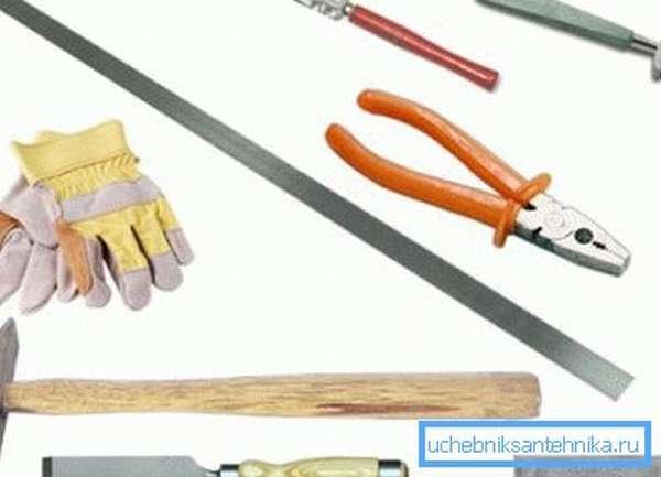 Инструменты для работы с жестью