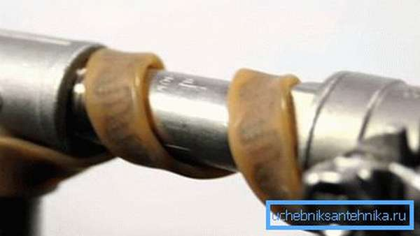 Использование греющего электрического кабеля