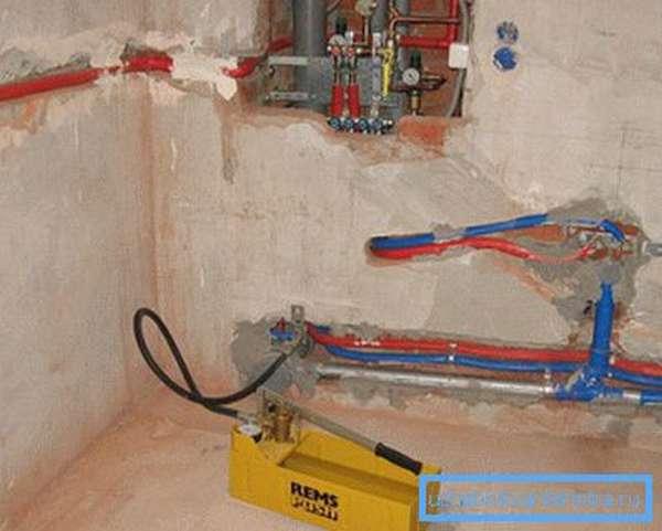 Испытание систем отопления в частном доме